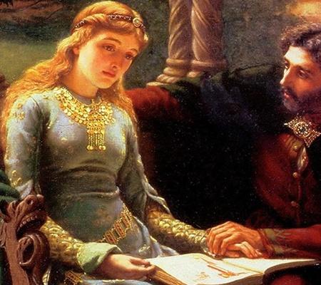Mormantul lui Pierre Abelard si Heloise